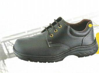 Frontier safety shoes low cut lace up black