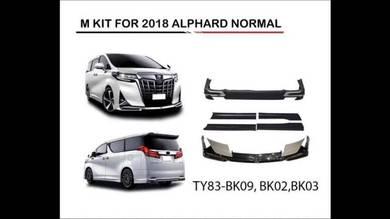 Toyota alphard vellfire 2018 modellista bodykit 1