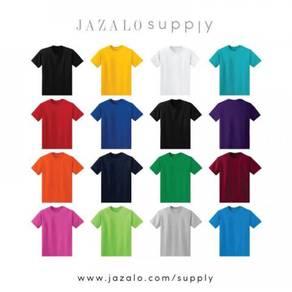 Plain Adult T-shirt - Baju Kosong Dewasa