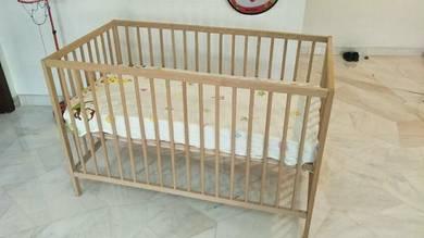 Baby crib from Ikea