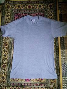 Vtg vintage plain t shirt 5050