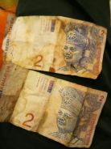 Old Malaysian money