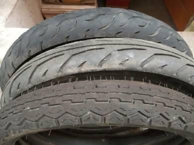 Tayar 95% baru tube tyre
