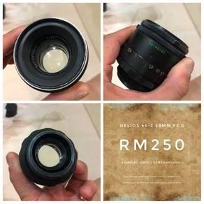 Helios 44-2 58MM f2.0