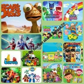 Pendrive kartun utk kanak-kanak