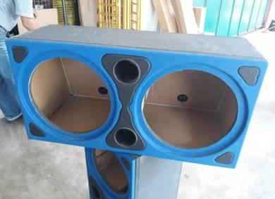 Box Speaker Kereta Double 10 inci