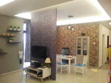 Rini height, 2 storey terrace house ENDLOT (Fully renovated) (G&G)