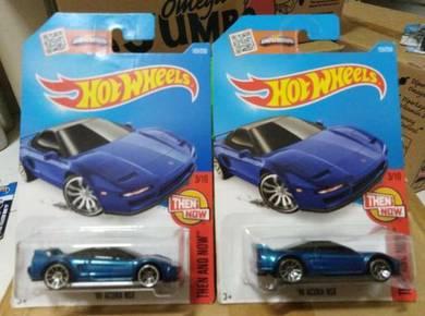 Hotwheels '90 Acura NSX Blue