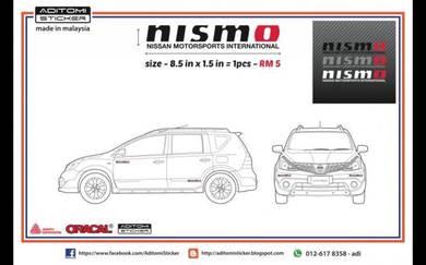 Nismo Nissan Motorsports International sticker