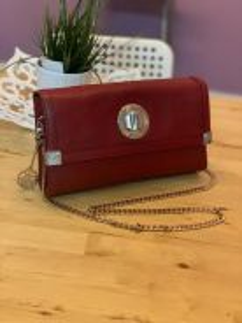 DKNY leather sling bag