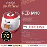 Multicooker Red M10 model CUCKOO