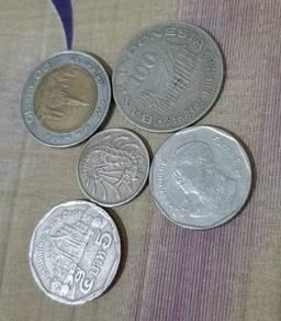 Syiling lama 3 buah negara dalm Malysia
