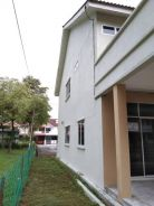Double storey terrace Corner Taman Cegar