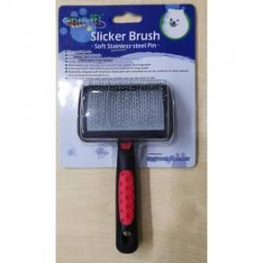 Hello Pet Slicker Brush Soft Stainless- Steel Pin