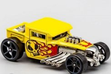 Hotwheels Bone Shaker Yellow