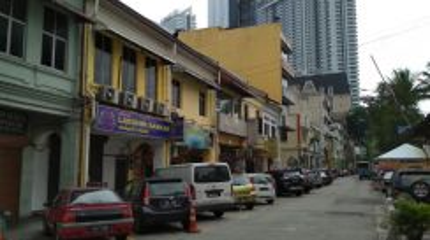 2 storey Brickfields Shop Lot