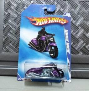 Hot Wheels Scorchin Scooter Purple