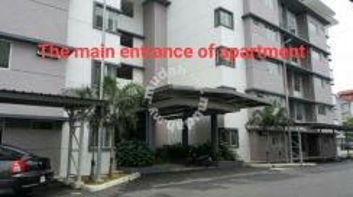 Apartment D'CAMELIA COURT, NILAI IMPIAN, BELOW MARKET, GROUND FLOOR!