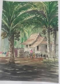 Koleksi Lukisan Kampung Terbaru 2020