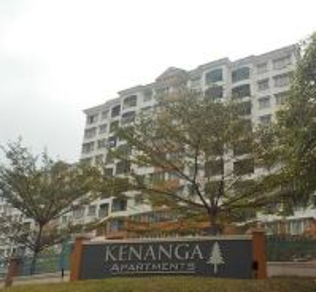 Kenanga Apartment 899sfqt Wawasan Puchong RENOVATED Full Loan