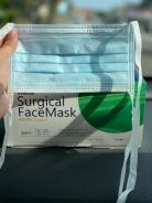 Surgical face mask tie on back 3ply