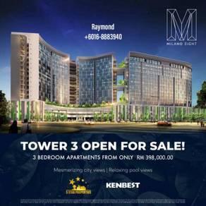 New Project Milano 8 Opposite Vivacity Megamall, Tabuan Jaya