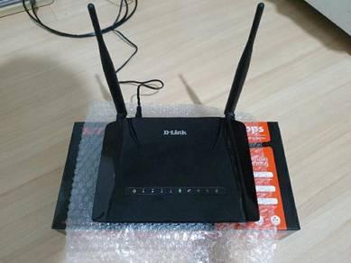 D-link Modem Router (Streamyx/Unifi Lite)