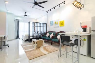 [Fully Furnish]Studio Unit 450sqft Galleria Equine Park Seri Kembangan