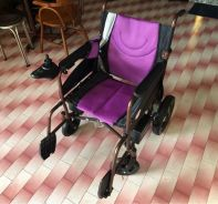 Hopkin Electric Wheelchair Foldable 1 month old