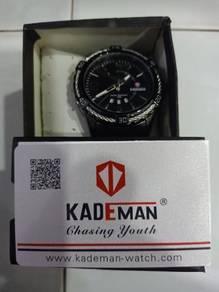 Kademan Original Black Chain Watch