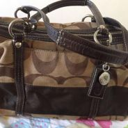 Preloved ori coach handbag