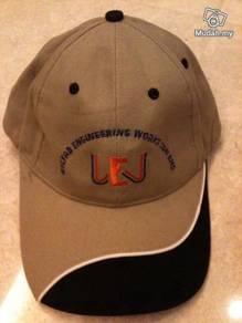 WEW brown baseball cap