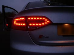 DEPO AUDI A4 Crystal LED RED Style Tail Light