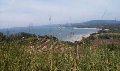 Beach land for rent, Kota Belud