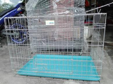 804D Chrome Pet Cage 36''(L) x 24''(W) x 24''(H)