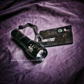 Combo outdoor travel gear flashlight + tac card