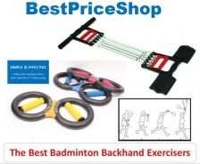 BPS Badminton Backhand Exerciser Smash Stroke