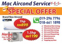 Professional Aircond Service KL PROMOTION NOW
