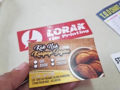 Design Sticker Branding