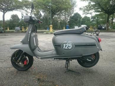 Scomadi TL125 Matte Grey