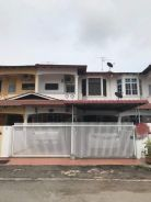 Double storey terrace house Taman Rimba