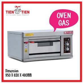 TIEN TIEN Gas Oven 1 Deck / 1 Tray