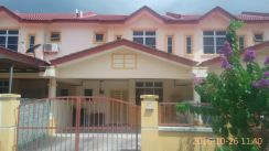 Bukit galena seremban town double storey beside highway toll