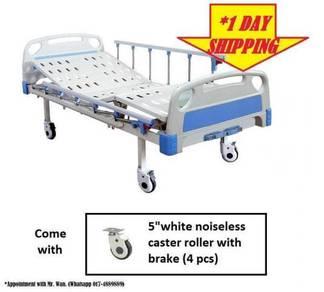FREE SHIPPING (*1 DAY) 2 Fungsi Hospital Bed Katil