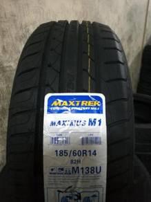 Tayar Baru 185 60 14 Maxtrek New Tyre