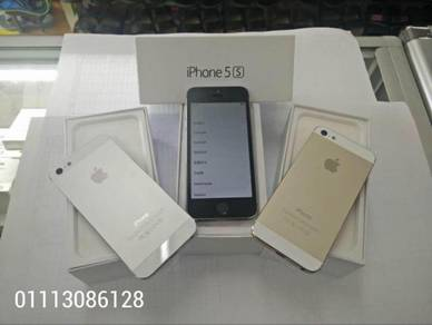 Iphone 5s 16gb rom set ll tiptop seconhan