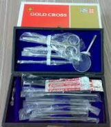Dissecting Set Gold Cross