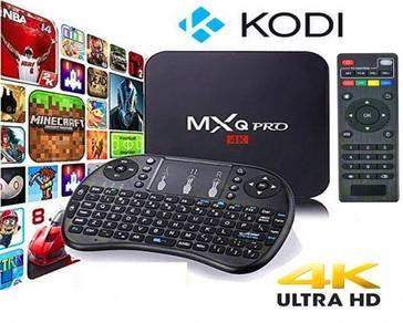 Mx 4k (FULL HD) Android tv decoder box new version