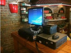 Mesin cashier pos systems cash register