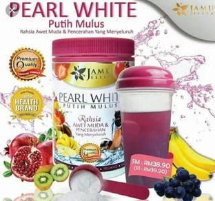 Pearl white putih mulus jamu jelita